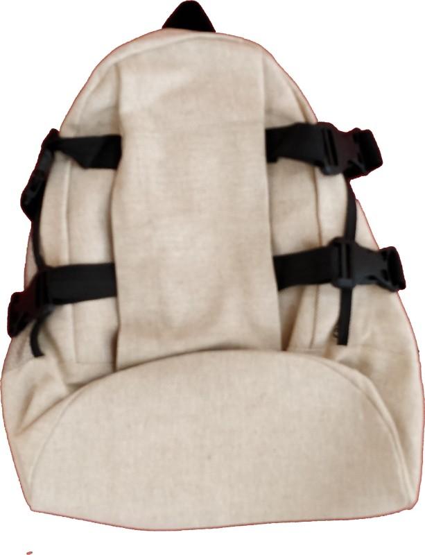 Empower Trust Travel Bag Oxford Backpack(Black, Beige, 30 L)