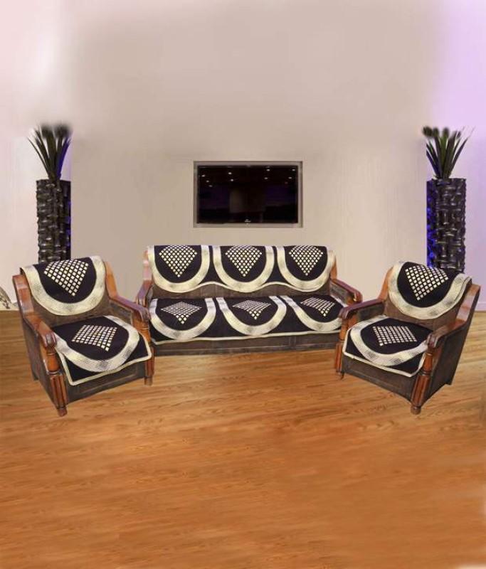 SHIV KIRPA SC002 SC002 Sofa Fabric(Multicolor 1.7 m)