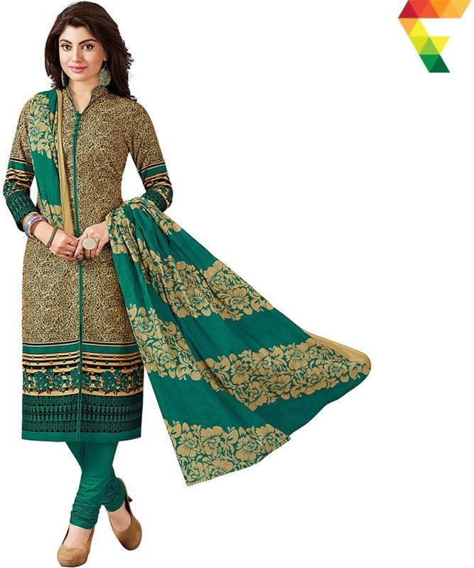 FabTag - Fashion Valley Cotton Printed Salwar Suit Dupatta Material, Kurta &...