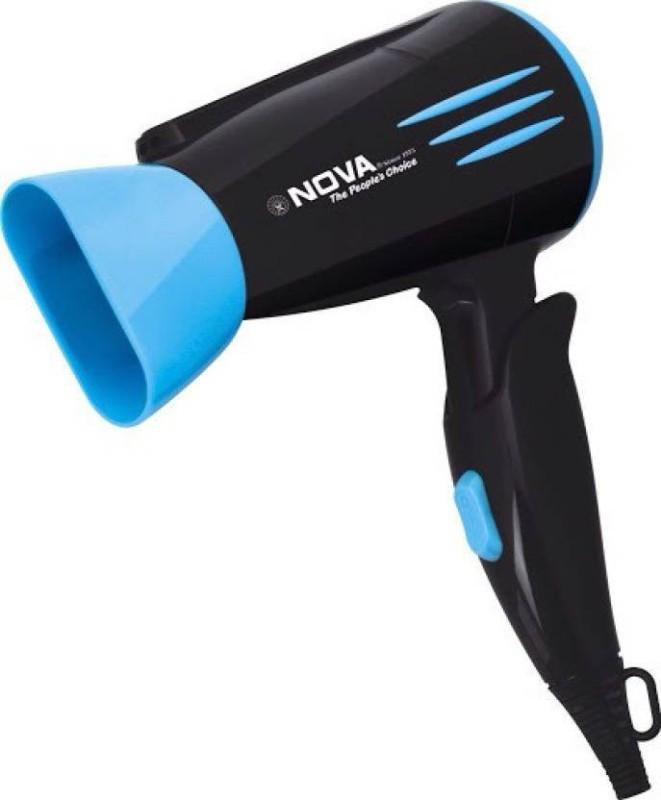 Nova Silky shine 1600 w NHP 8200/02 Hair Dryer(1600, Black, Blue)