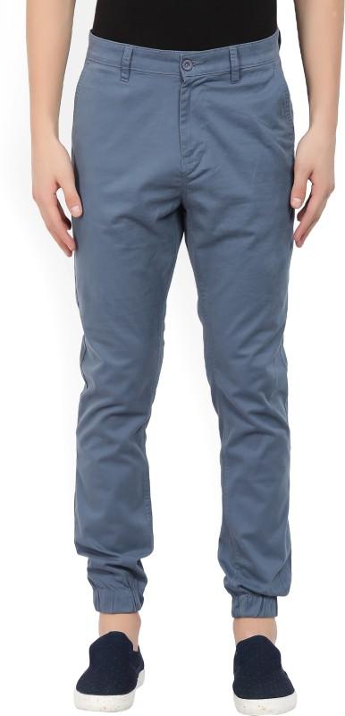 Highlander Slim Fit Men Blue Trousers