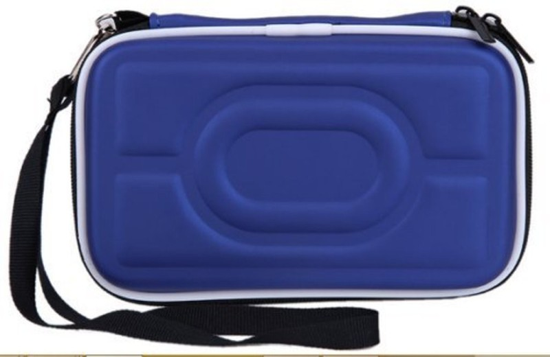 Gadget Deals Pouch for WD My Passport 4 TB Wired External Hard Disk Drive(Blue, Shock Proof, Artificial Leather)