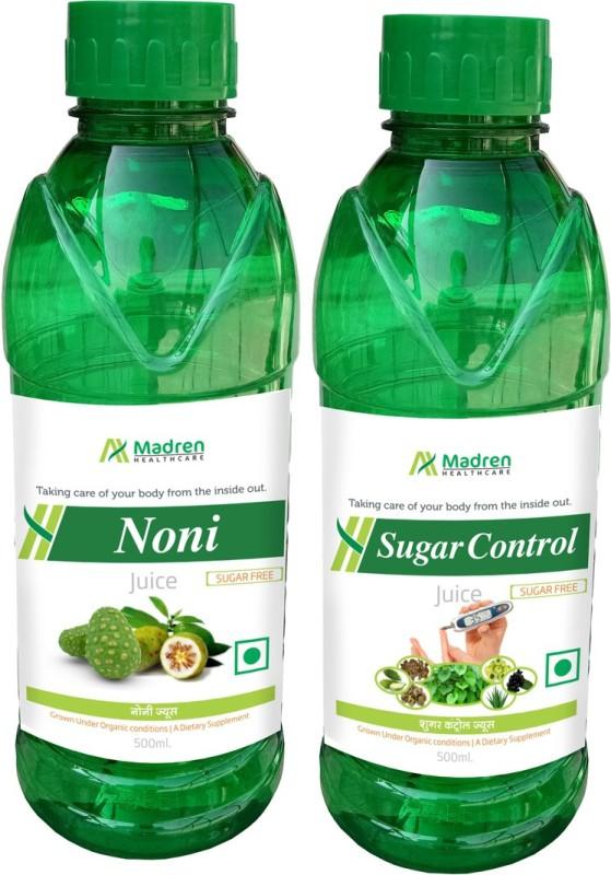 Madren Healthcare Noni & Sugar Care Juice(2 x 250 ml)