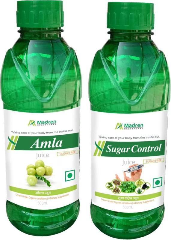 Madren Healthcare Amla & Sugar Care Juice(2 x 250 ml)