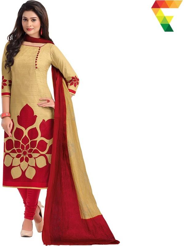 FabTag - Fashion Valley Cotton Printed Salwar Suit Dupatta Material(Un-stitched)