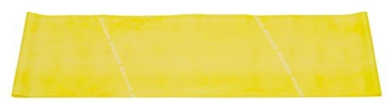 Thera-Band Light/ Thin Resistance Latex Exercise Band 9 Feet( Length) x 5 Inches( Width) Yellow Resistance Band(Yellow, Pack of 1)