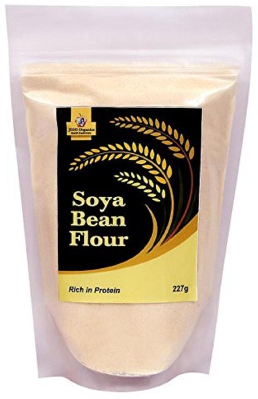 Jioo Organics Soyabean Flour or Soyabean ka atta(227 g)