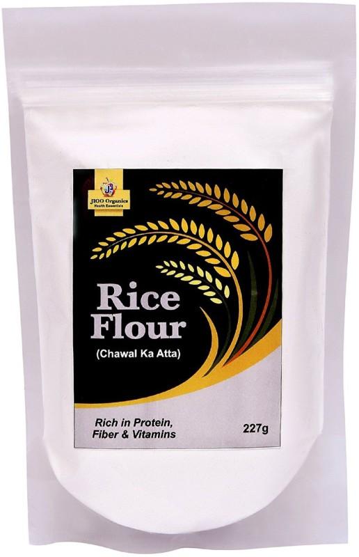 Jioo Organics Premium Rice Flour or Chawal ka Atta(227 g)