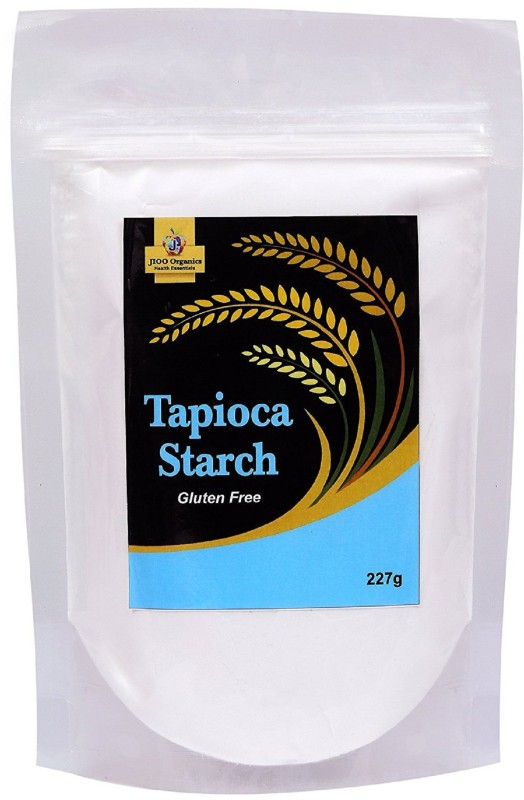 Jioo Organics Tapioca Starch Powder,Cassava Flour ,Gluten Free(227 g)