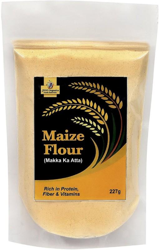 Jioo Organics Maize Flour or Makki ka Atta Pack Of(227 g)