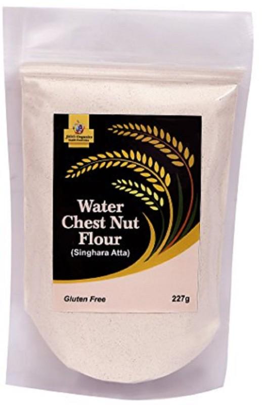 Jioo Organics Water Chest Nut Flour Or Singhara Flour(Atta)(227 g)