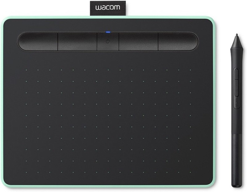 WACOM Intuos Small CTL-4100/K0-CX 6.3 x 0.35 inch Graphics Tablet(Black)