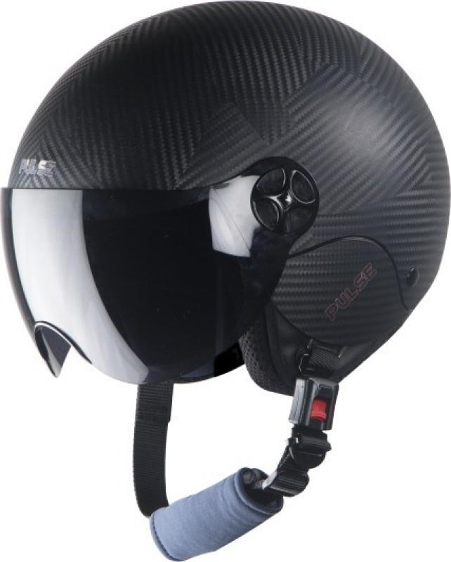 Steelbird SBH-16 Pulse Motorbike Helmet(Black)