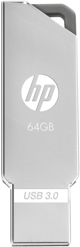 HP X740W 64 GB Pen Drive(Silver)