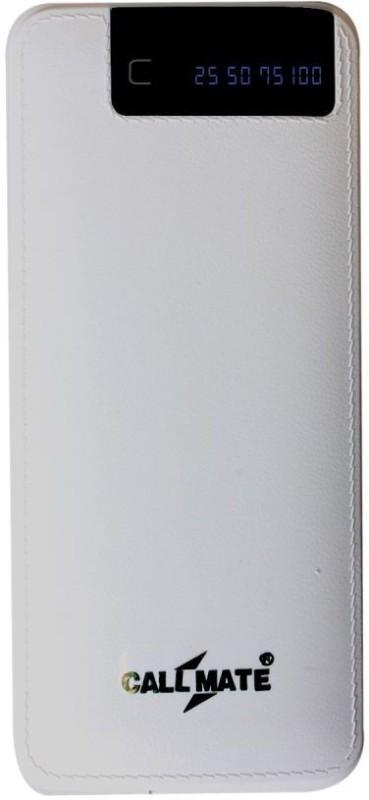 Callmate 15000 Power Bank (RCM6, 3 USB Port and Digital Display)(White, Lithium-ion)