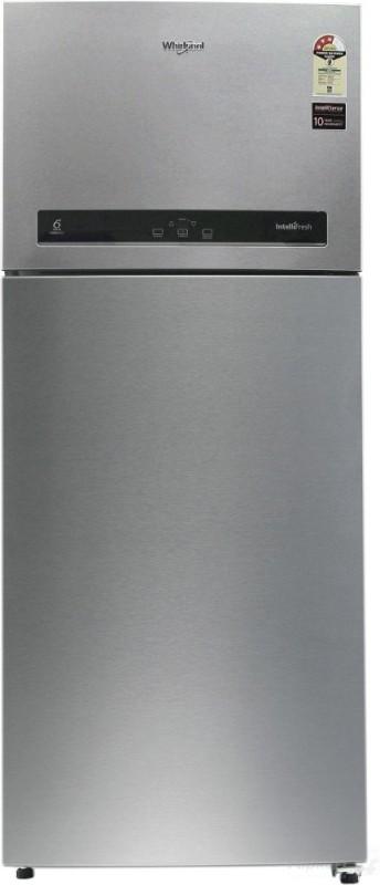 Whirlpool 440 L Frost Free Double Door 3 Star Refrigerator(Alpha Steel, IF 455)