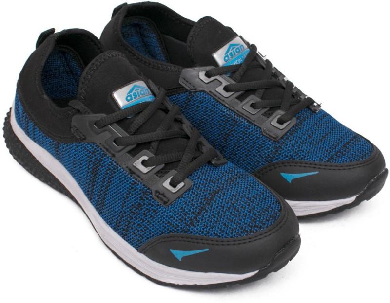 Asian Walking Shoes,Gym Shoes,Knir Sports Shoes,Training Shoes,Motosports Shoes, Walking Shoes For Men(Blue, Black)