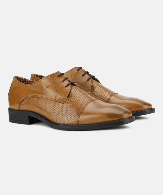 Van Heusen Lace Up For Men(Tan)