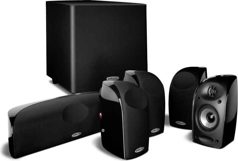 Polk Audio Blackstone TL1600 Home Theater 5.1 Ch. Speaker System Total Wattage 575 Home Audio Speaker(Black, 5.1 Channel)