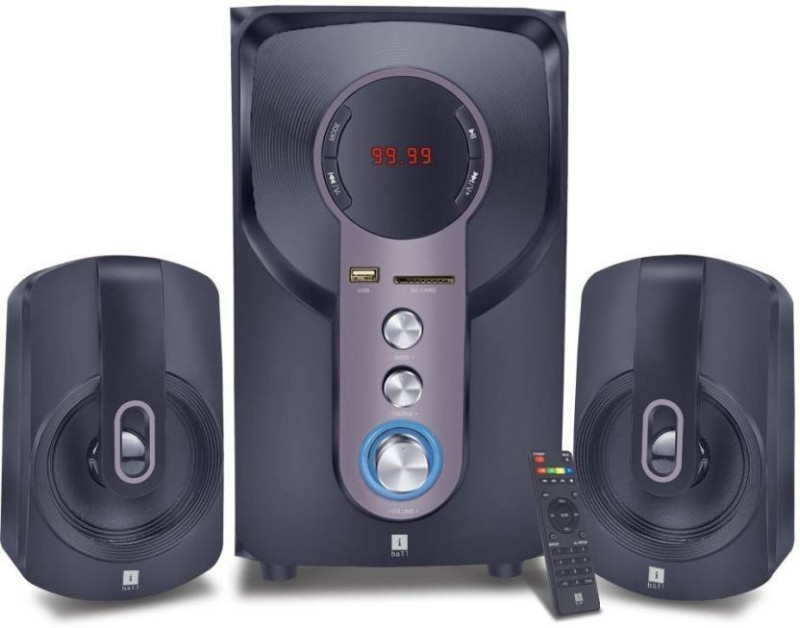 Iball HI-BASSS 2.1 HOME THEATER SYSTEM 2.1 Home Cinema(sound)