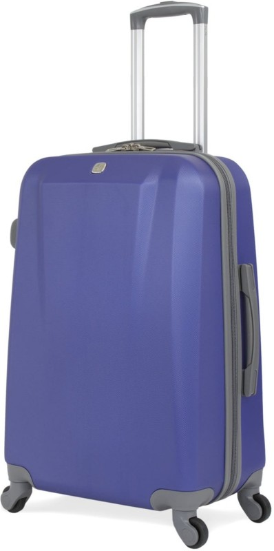 Swiss Gear 24 Spinner ABS/ Blue Check-in Luggage - 26 inch(Blue)