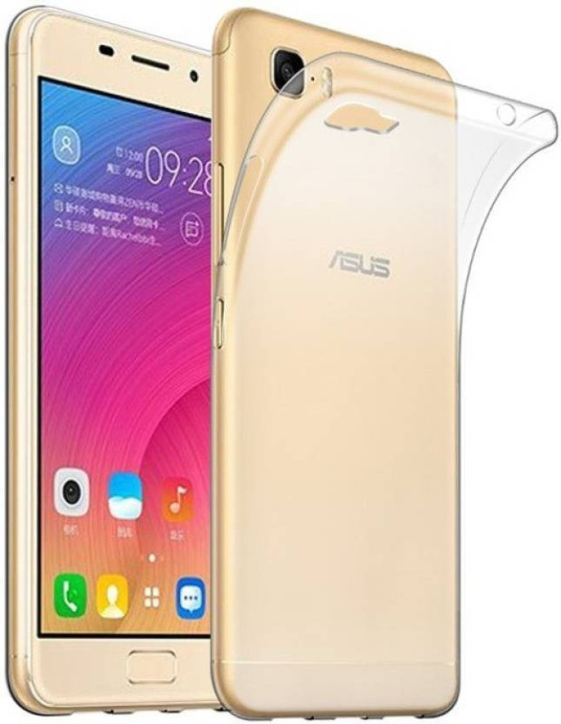 BIZBEEtech Back Cover for Asus Zenfone 3S Max(Transparent, Rubber)