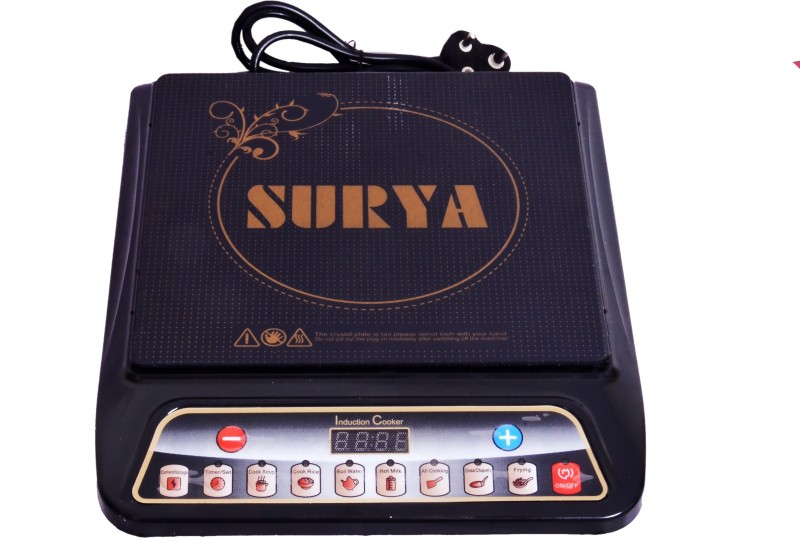 Surya A8 Induction Cooktop(Black, Push Button)