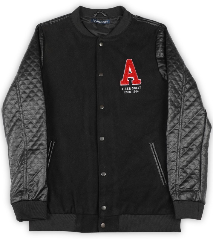 Allen Solly Junior Full Sleeve Solid Boys Jacket