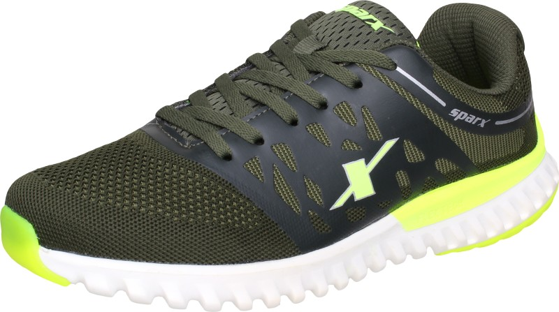 Sparx Running Shoes For Men(Green, Olive)