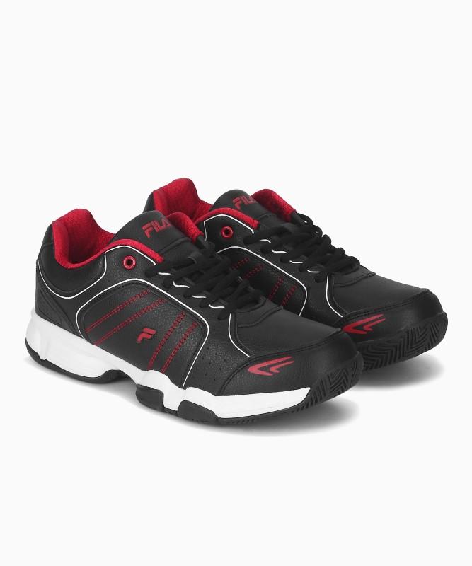Fila SET 6 Running Shoes For Men(Black)