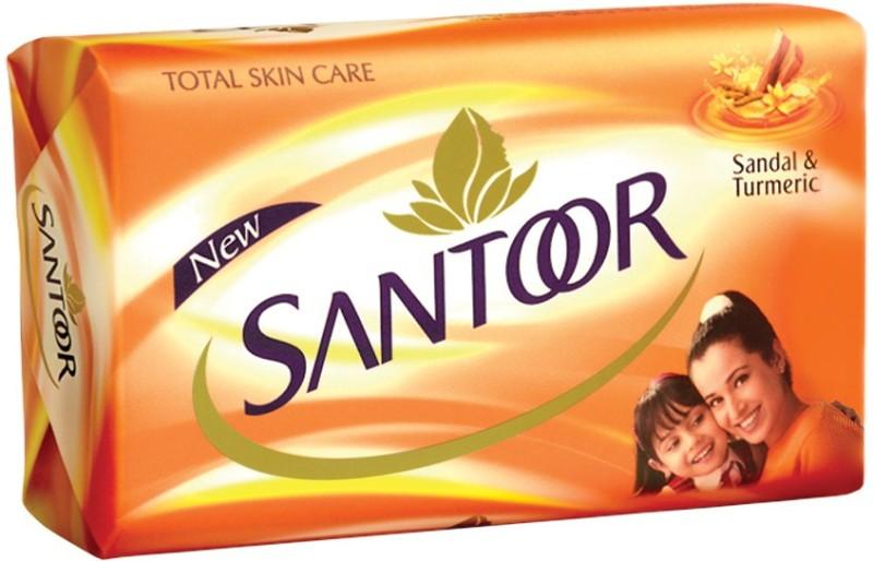 Santoor Sandal & Turmeric Soap(100 g)