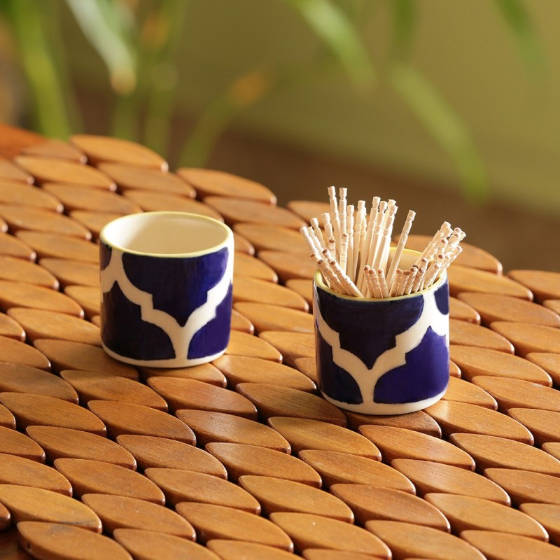 ExclusiveLane Toothpick Holder(Pack of 2)