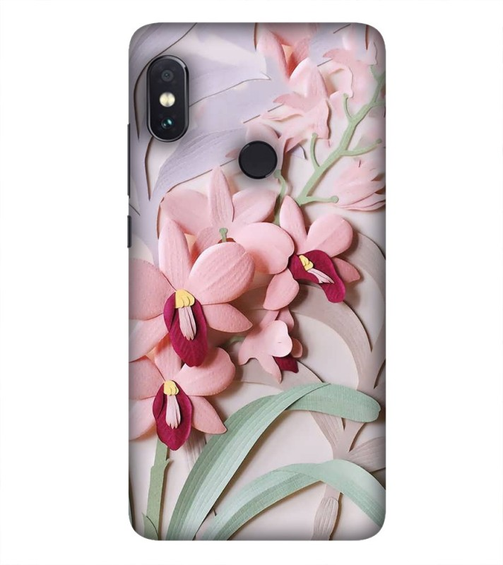 99Sublimation Back Cover for Vivo V9(Love Flower Pattern)
