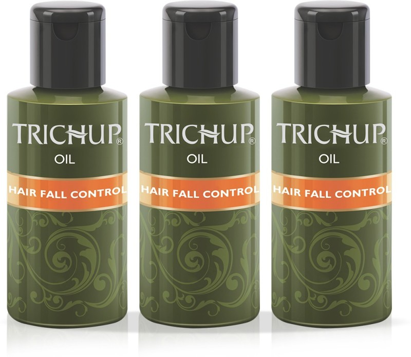 Trichup Hair Fall Control Herbal Hair Oil 100 ml (Pack of 3) Hair Oil(300 ml)