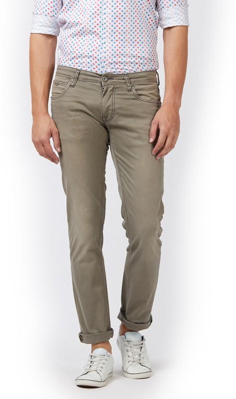 LAWMAN PG3 Slim Men's Brown Jeans