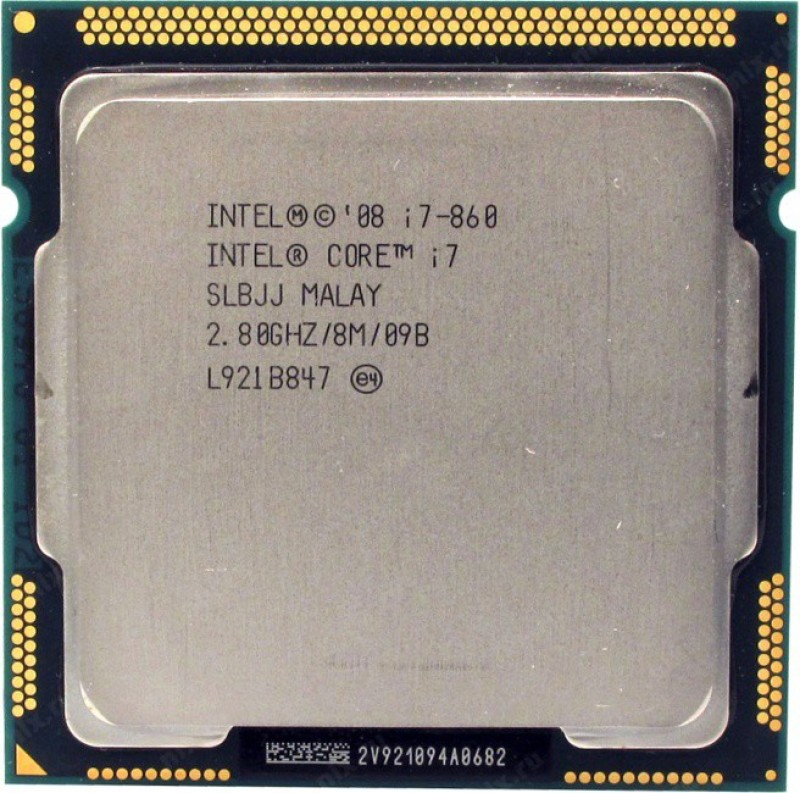 Intel 2.80 LGA 1156 Core i7 860 Processor(Silver)