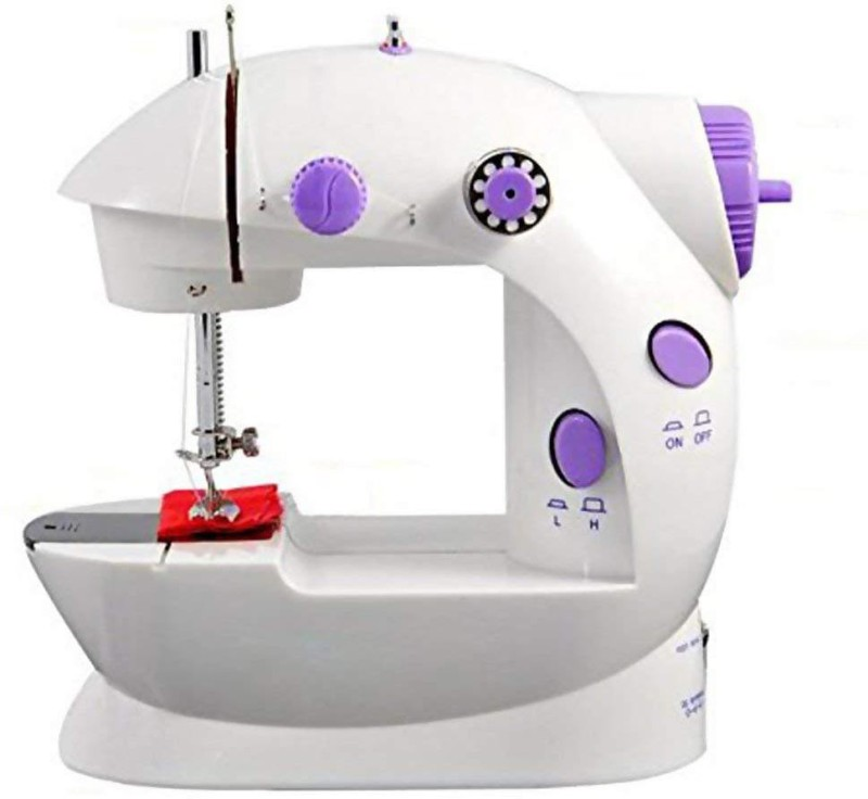 Maison & Cuisine Portable Sewing Machine Mini 2-Speed Double Thread( C ) Electric Sewing Machine( Built-in Stitches 1)