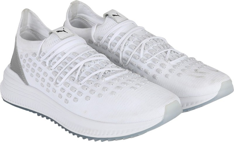 Puma AVID Fusefit Running Shoes For Men(White)