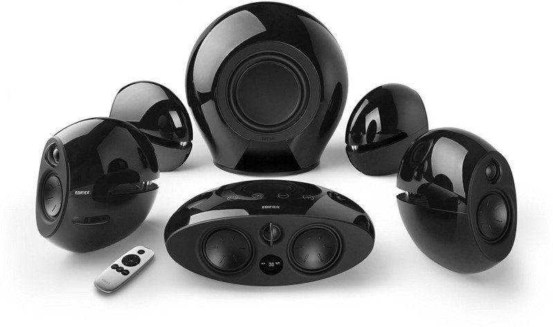 Edifier E 255 (LUNA) 400 W Bluetooth Home Theatre(Black, 5.1 Channel)