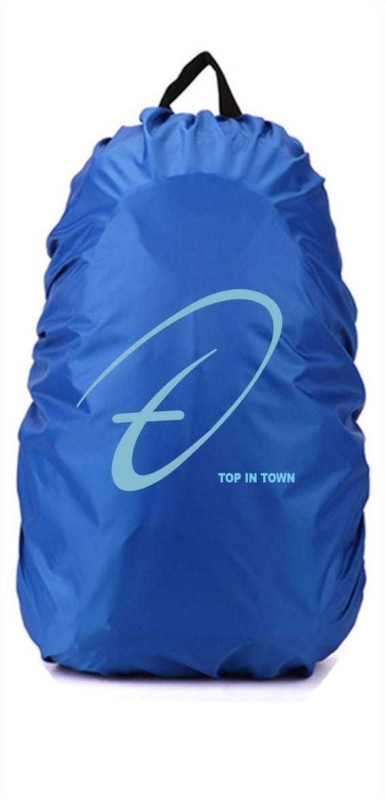 TREND IT Top in tn_bag cover_02_blue Dust Proof, Waterproof Laptop Bag Cover, School Bag Cover(50 L Pack of 1)