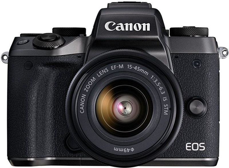 Canon M5 DSLR Camera EF-M15-45 IS STM(Black)