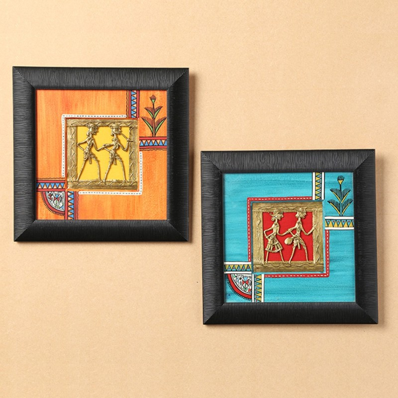 ExclusiveLane Wall Décor Acrylic 9 inch x 1 inch Painting