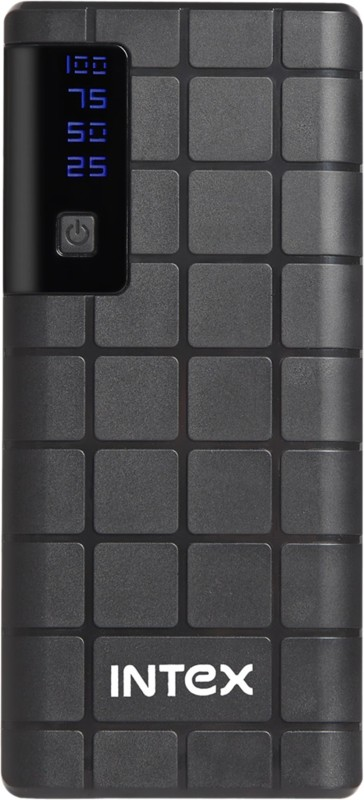 Intex 10000 mAh Power Bank (IT-PB 10K)(Black, Lithium-ion)
