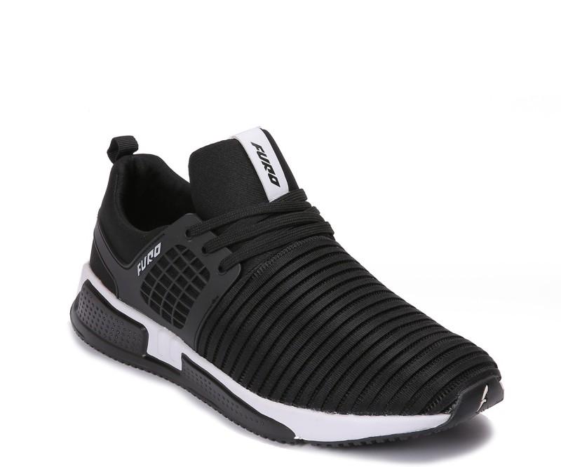 Furo Walking Shoes For Men(Black)