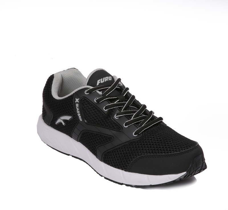 Furo Walking Shoes For Men(Black, Grey)