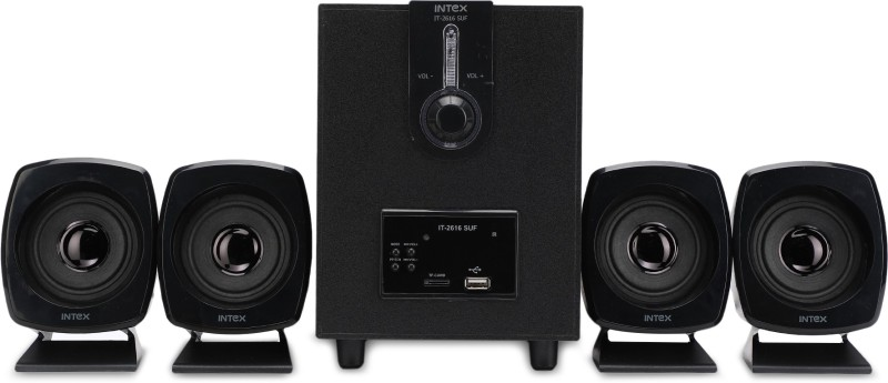 Intex IT 2616 55 W Portable Home Audio Speaker(Black, 4.1 Channel)