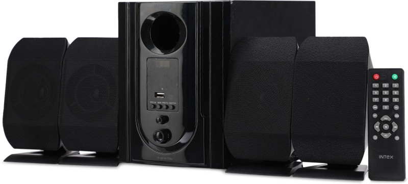 Intex IT 301N 60 W Home Audio Speaker(Black, 4.1 Channel)