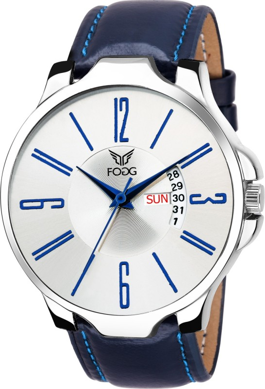 Fogg 1149-BL Day and Date Watch - For Men