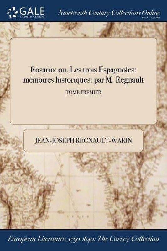 Rosario(French, Paperback, Regnault-Warin Jean-Joseph)