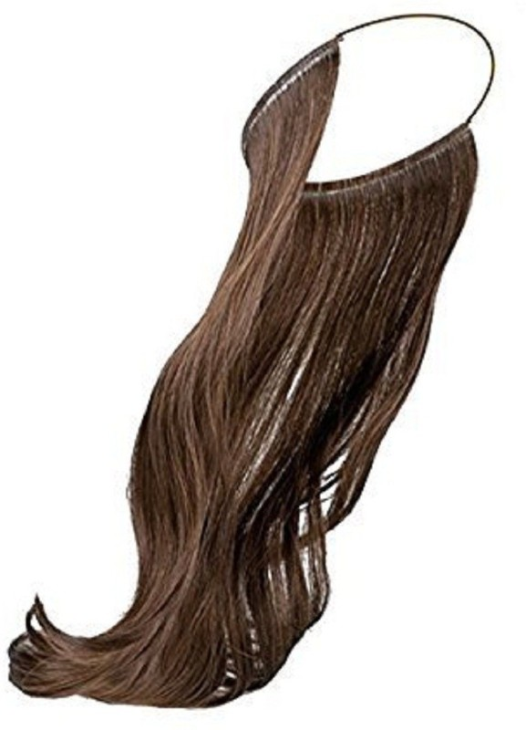 AASA Synthetic Extension For Women | Synthetic Secret Extensions For Women And Girls (Light Brown) Hair Extension